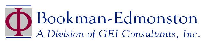 Bookman-Edmonston logo