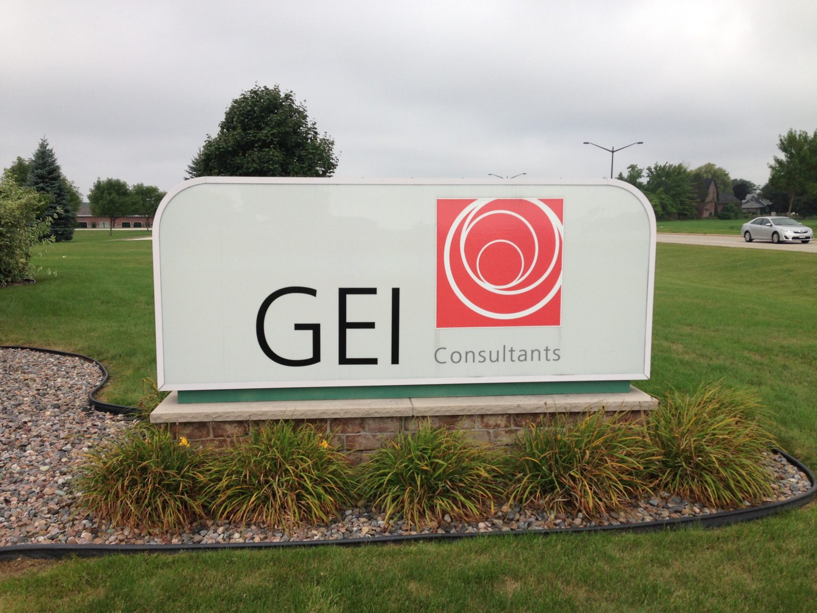 GEI Consultants office sign