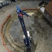 Gastown Auger construction crane