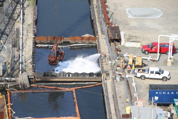 new bedford harbor - marine MGP & Tar Facility Remeditation