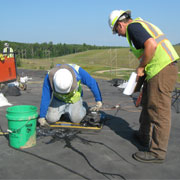 material testing construction workers