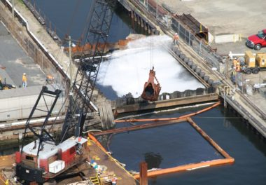 New Bedford Harbor – Marine MGP & Tar Facility Remediation | GEI
