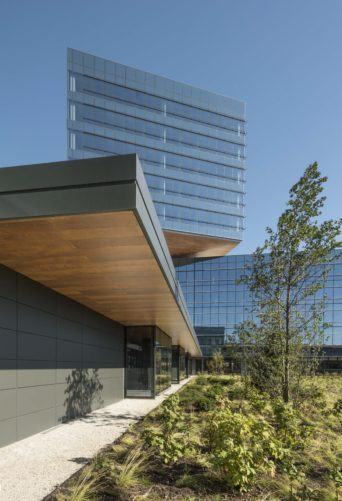 ground level of Zurich North America Headquarters