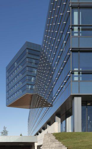 Zurich North America Headquarters ledge