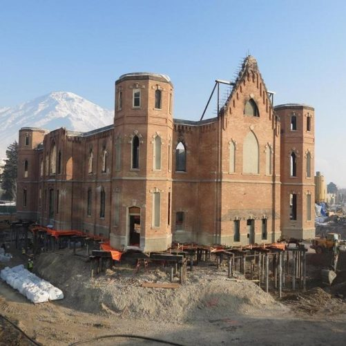 Provo Temple Underpinning - GEI