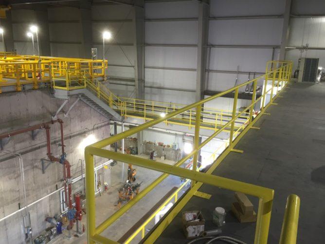 indoor clarifier structure
