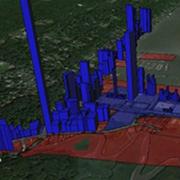 Coastal planning 3D model
