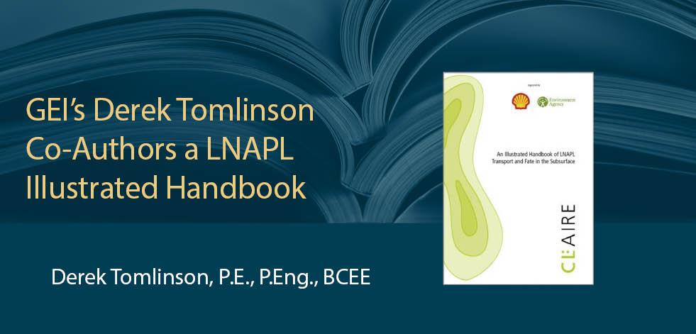 GEI's Derek Tomlinson Co-authors a LNAPL Illustrated Handbook