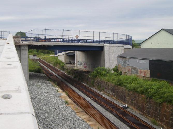 bridge over traintrack