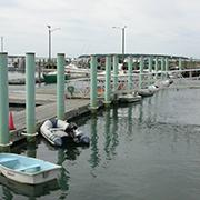 pier on water