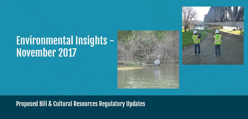 California Environmental Insights Dec. 2017, Industry Updates