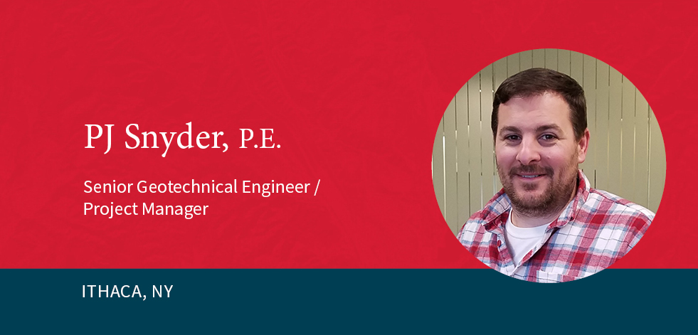 GEI's PJ Snyder Relocates to Ithaca Office