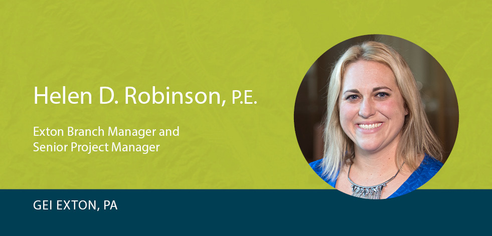 GEI's Helen Robinson Promoted to Exton, PA Branch Manager