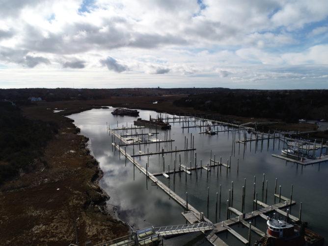 view of Sesuit Harbor