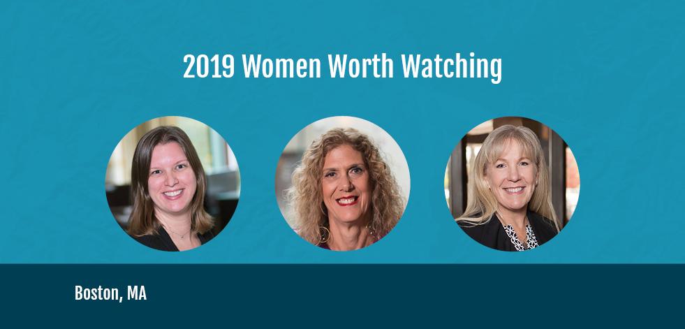 graphic of 2019 Women Worth Watching