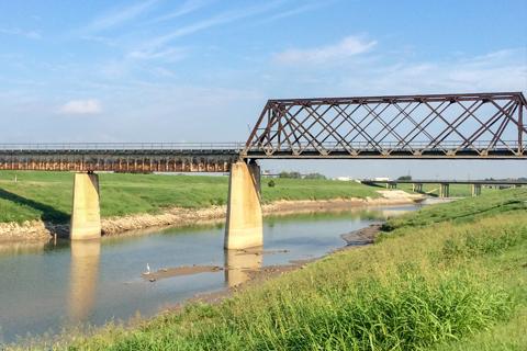 bridge in marsh